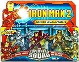 Iron Man 2 Super Hero Squad Armor Evolutions Action Figure 3Pack Iron Man Mark I, Iron Man Mark II & Iron Man Mark III