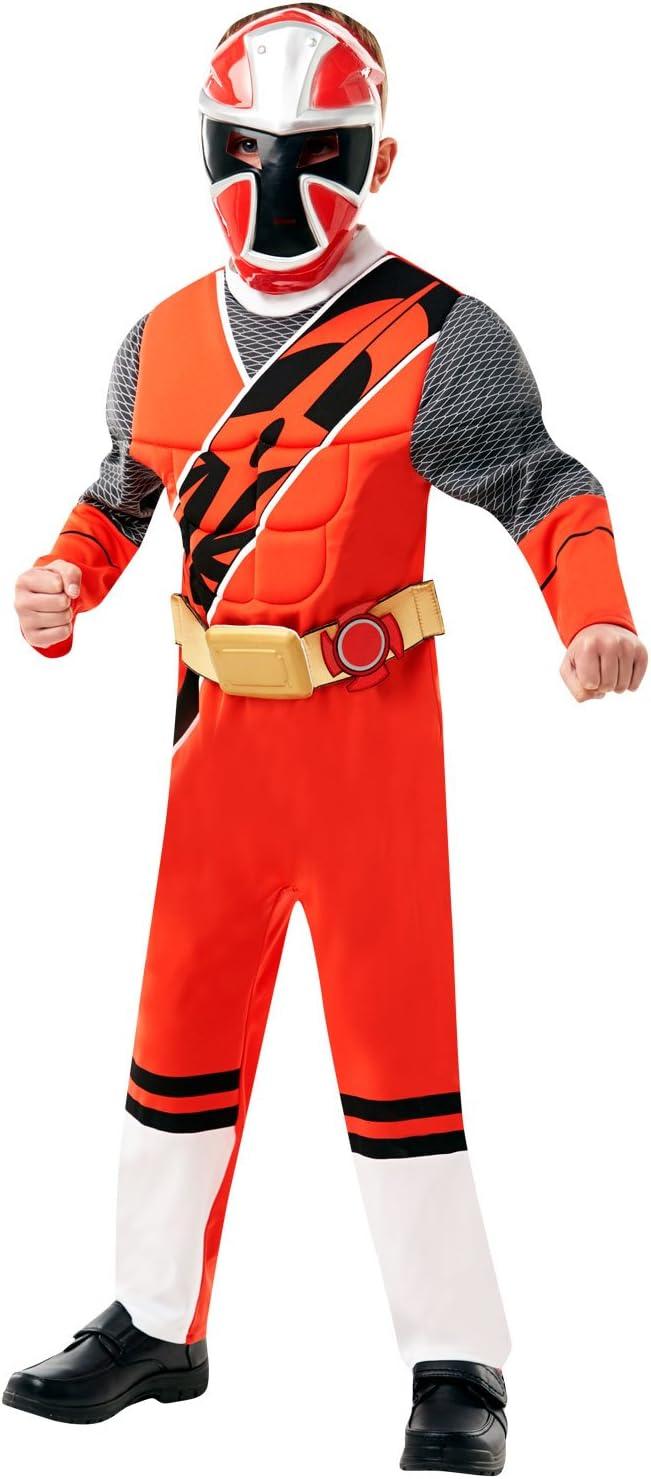 DLX. Ranger rojo - Ninja Steel - Power Rangers - Disfraz de ...