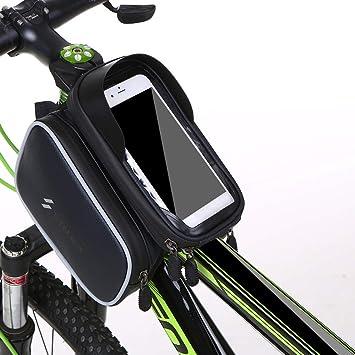 Lixada Bolsa de Cuadro para Bicicleta Impermeable Bolsa de Tubo ...