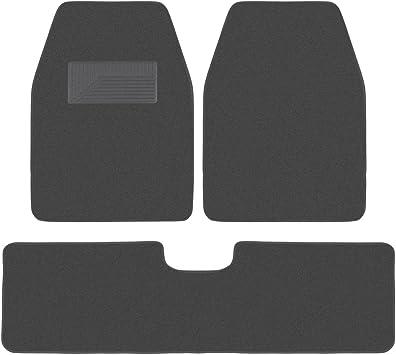 Black Coverking Front and Rear Floor Mats for Select Focus Models CFMBX1FD9621 Carpet 70 oz