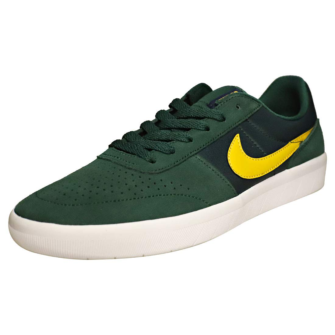 competitive price 19b47 1f25c Galleon - Nike SB Team Classic Skate Shoe (9.5 D(M) US, Midnight Green Yellow  Ochre)