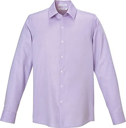 North End Refine Mens Wrinkle Free Oxford Shirt Orchid Pu... XX-Large 88689