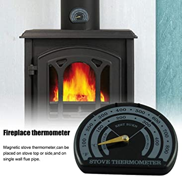 Fire Stove Thermometer Magnetic