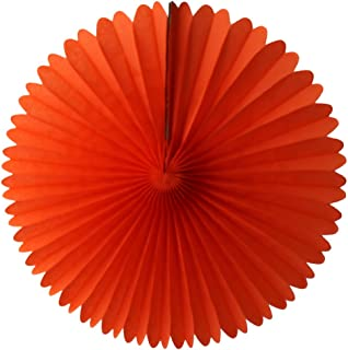 product image for 3-pack 13 Inch Tissue Paper Party Fans (Orange)