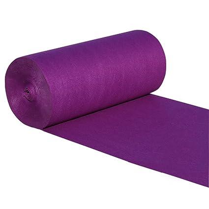 Purple Wedding Disposable Carpet Opening