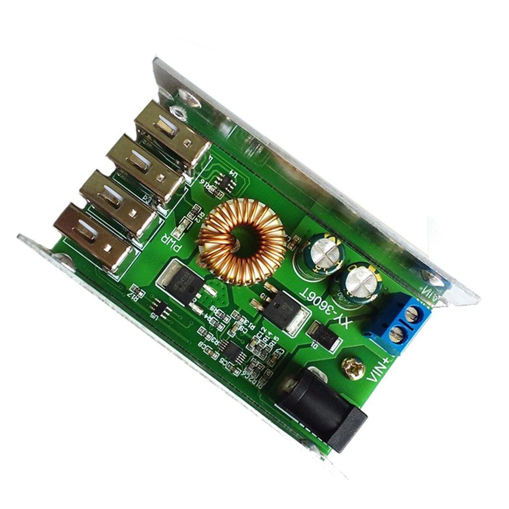 5 V 5 A-Wandler Ersetzen Sie den LM2596S BIlinli DC-DC-Netzteilmodul 24 V 12 V