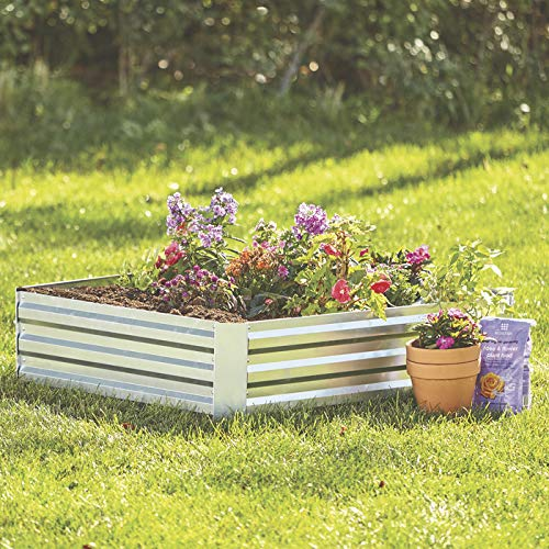 Kotulas Galvanized Steel Raised Garden Bed - 4ft. x 4ft.
