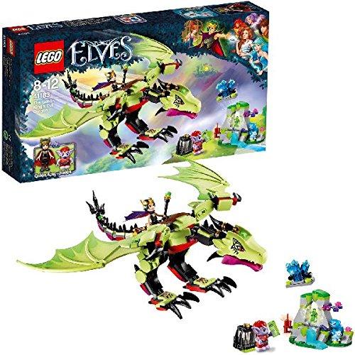 6 opinioni per LEGO Elves 41183- Il Drago Malvagio del Re Goblin