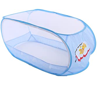 Amazon.com  Large Baby Travel Tent Toddler Summer Mosquito Net for Children Infants Cots Newborn Foldable Crib Beach Play Tent Bed Playpen (Blue)  Baby  sc 1 st  Amazon.com & Amazon.com : Large Baby Travel Tent Toddler Summer Mosquito Net for ...