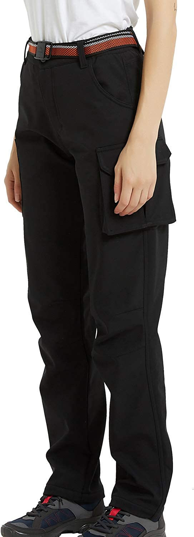 Women/'s Men Outdoor Waterproof Windproof Slim Cargo Ski Hiking Pants Trousers US