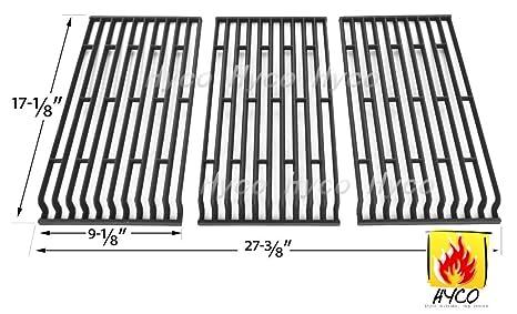 Vicool hyg569 C (3 unidades) parrillas de cocción de hierro ...