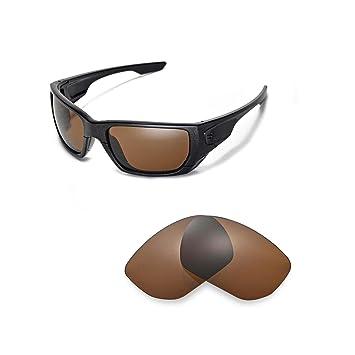 Walleva Ersatzgläser für Oakley TwoFace Sonnenbrille - 6 Optionen (Eisblau) fDwUHFLd