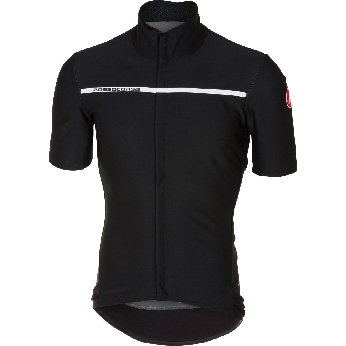 CastelliメンズGabba 3半袖サイクリングjacketb17084 B075GGGCQ2 Large|ライトブラック ライトブラック Large