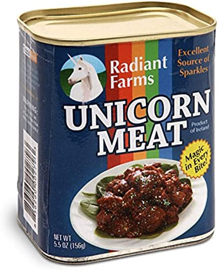 CANNED UNICORN MEAT Funny T Shirt