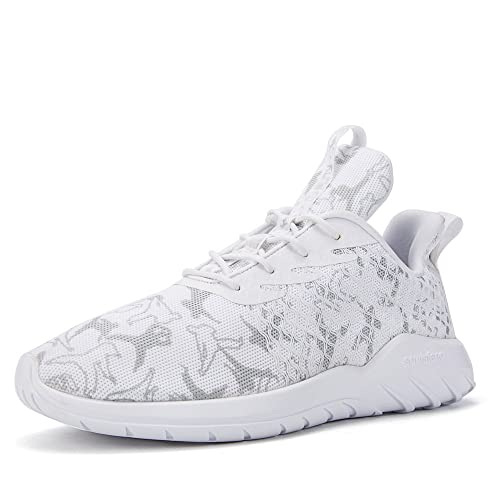 Soulsfeng Zapatos Deportivos Zapatillas Zapatos de Hombres para Mujer Calzado Deportivo Zapatos Planos Zapatos Con Cordones(negro 41EU) AHu7N