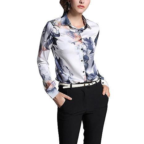 info for 95462 804db Fantasia Camicetta Zongsen Donna Contrasto Camicia Bianca ...