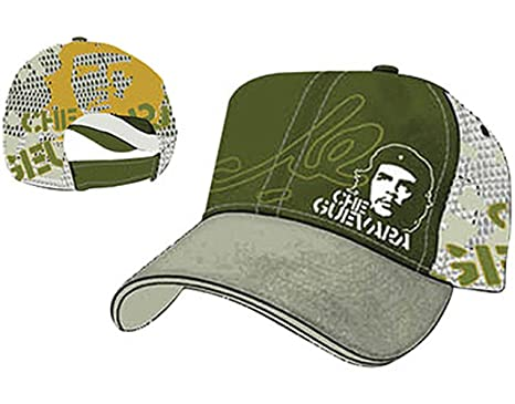 Che Guevara Signature Green - Gorra De Béisbol / Baseball Cap ...