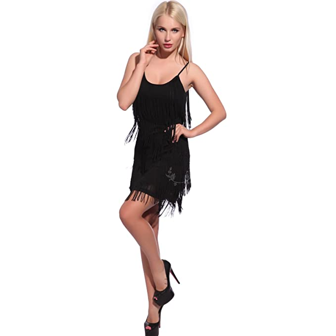 Amazon.com: Retro 20s Gatsby Charleston Flapper 5 niveles ...