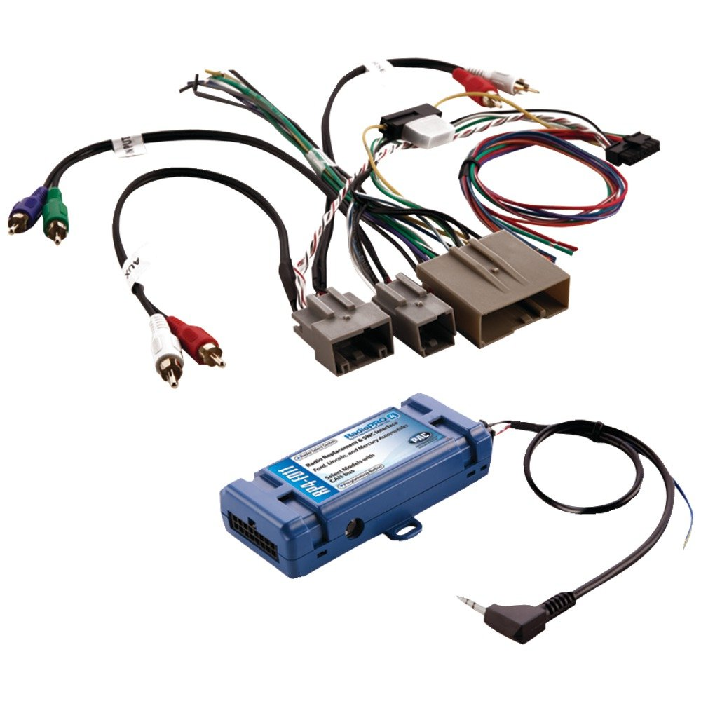 PAC RP4-FD11 All-in-One Radio Replacement & Steering Wheel Control Interface (For select Ford(R) vehicles with CANbus) Consumer electronic by PAC