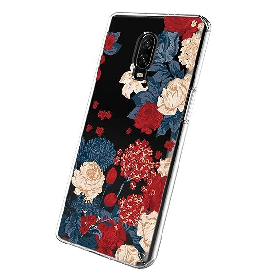 buy popular e0042 b9263 Amazon.com: Oneplus 6T Case Oneplus 6 Phone Case, Ultra-Thin Clear ...