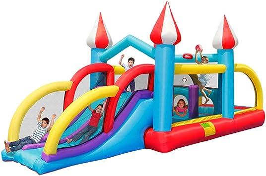 Castillo Inflable para Niños Toboganes para Niños Al Aire Libre ...