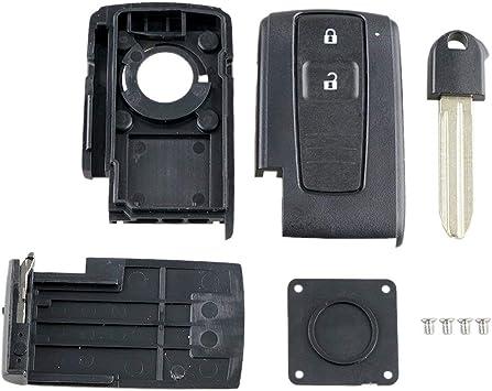 Tree On Life 2 Knöpfen Mini Fernschlüsselkasten Fernschlüsselkasten Für Toyota Prius Corolla Verso Toy43 Klinge Küche Haushalt