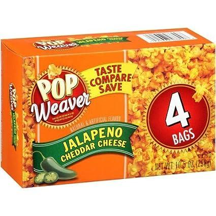 Pop Weaver, Jalapeno Queso Cheddar (, Microondas palomitas ...