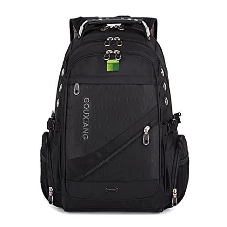 GOUXIANG Business Laptop Backpack- Water Resistant Computer Bag with  Multipfunction Sports Gym Bag College Backpack dc73d605aa