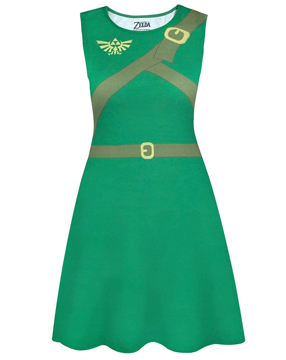 Zelda Official The Legend of Classic Cosplay Costume Dress ...