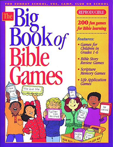 The Big Book of Bible Games #1 (Big Books)]()
