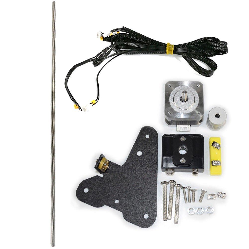 Comgrow Creality CR-10 Dual Z Axis Leading Screw Rod Upgrade Kit