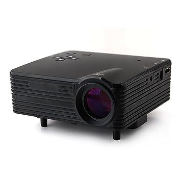 MegaTek® Mini LZ-H80 LED Digital Video Juego Proyector Proyector ...