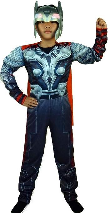 autentico scegli l'autorizzazione catturare PICCOLI MONELLI Costume Thor Bambino 4-6 Anni Vestito Thor ...