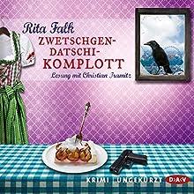 Zwetschgendatschikomplott (Franz Eberhofer 6) (       UNABRIDGED) by Rita Falk Narrated by Christian Tramitz