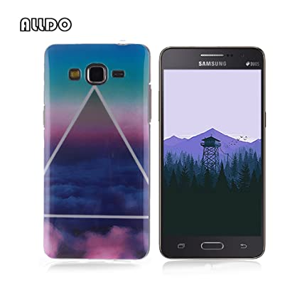 AllDo Funda Silicona para Samsung Galaxy Grand Prime G530 Carcasa Protectora Caso Suave TPU Soft Silicone Case Cover Bumper Funda Ultra Delgado ...