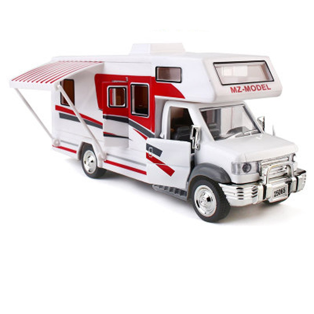 KMT Alloy Diecast RV Recreational Vehicle Motorhome Car Models Dia Cast Model (RV-Type C)