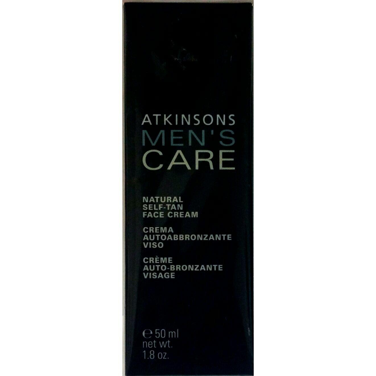 Atkinsons Men's Care Crema Autoabbronzante Viso 50 ml