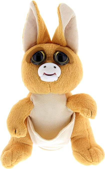 4 Plush Stuffed Kangaroo Feisty Pets Mini Jacked up Joey