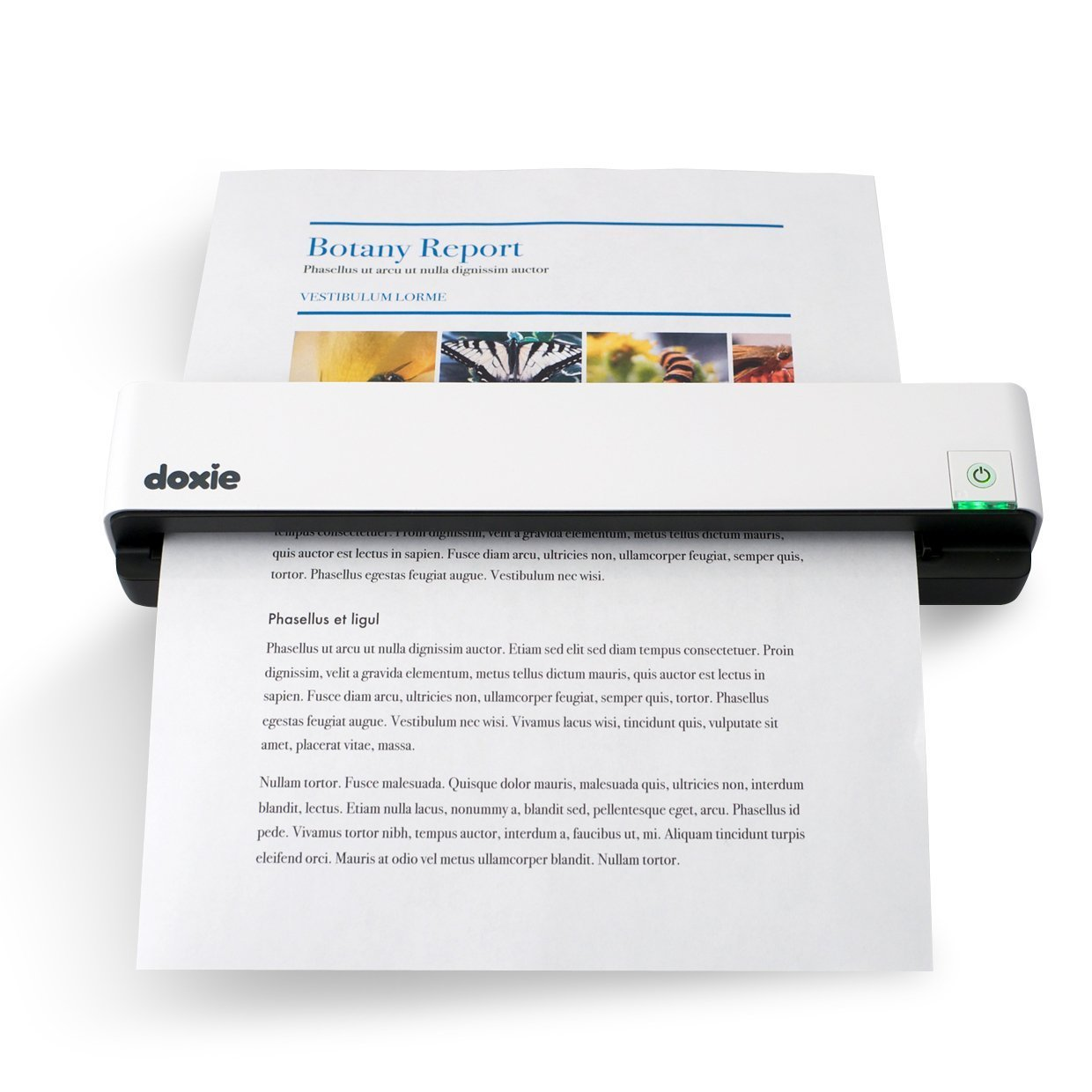 amazoncom doxie go mobile document scanner flatbed scanners electronics
