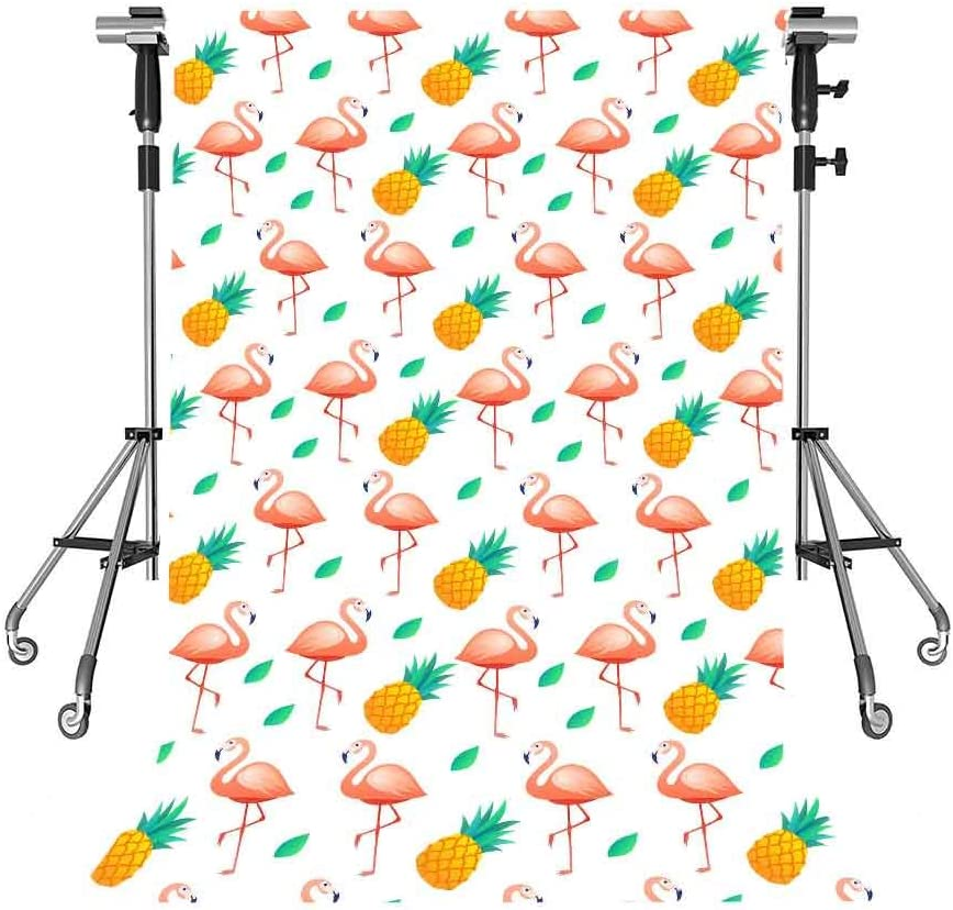 Pineapple Backdrop Cartoon Photography Background MEETSIOY 5x7ft Themed Party Photo Booth YouTube Backdrop LXMT1065