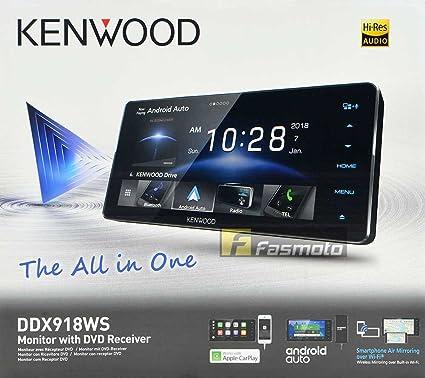 Amazon com: KENWOOD DDX918WS (DVD Region 3) 6 75