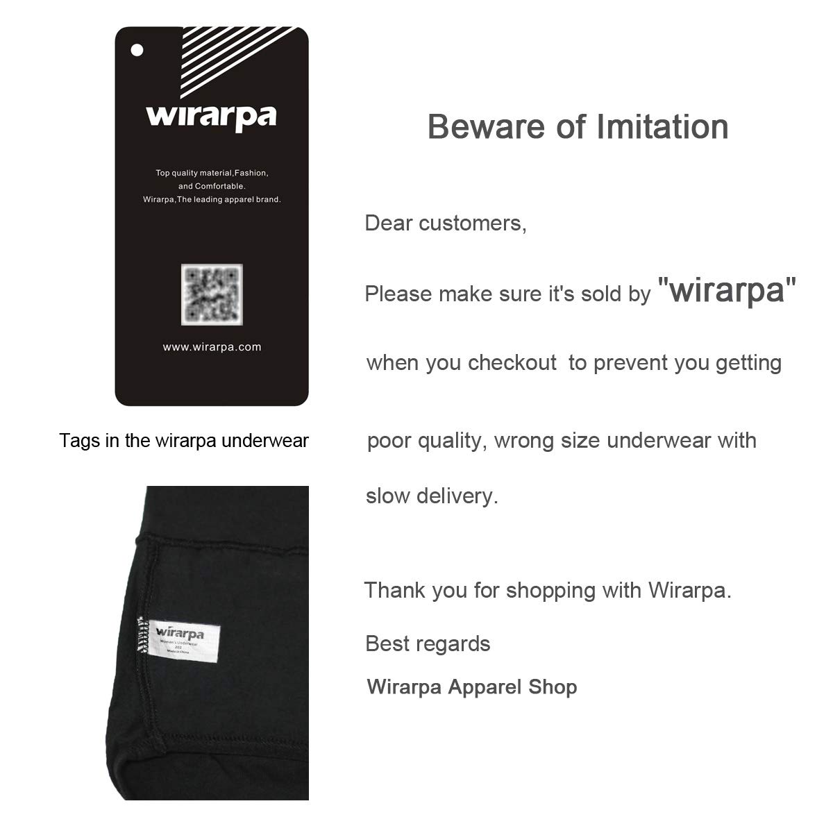 wirarpa Womens Cotton Stretch Underwear Briefs Soft Mid Rise Ladies Hipster Panties Multipack