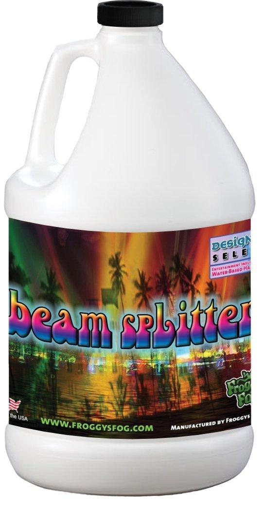 Beam Splitter - Professional Water Based Haze Fluid - 1 Gallon - Works Amazing in Hurricane Haze 1D, Haze 2D and Haze 4D