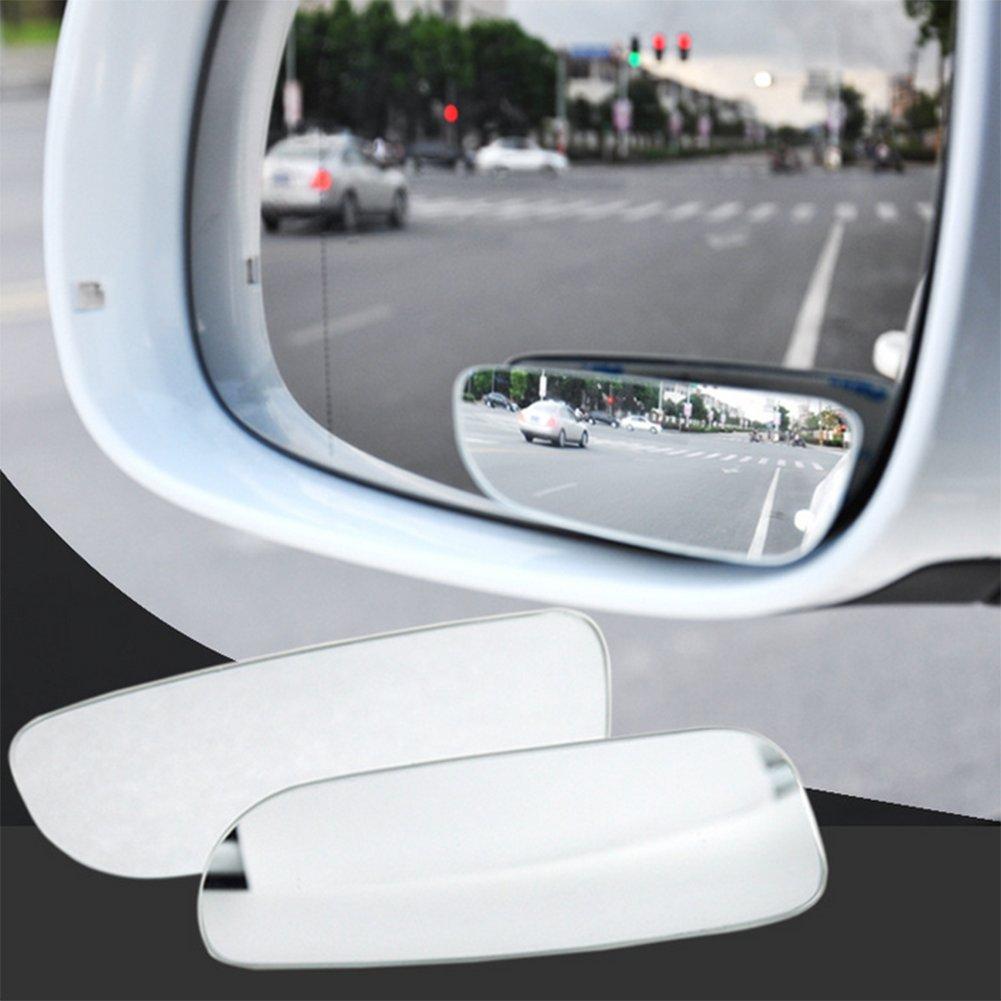 Chytaii Auto Blind Spot Rü ckspiegel Spiegel Harz Konvexspiegel Parkplatz Hilfsspiegel Auß enspiegel Rü ckspiegel KFZ Seitenspiegel 2PCs /90*32mm