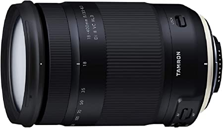 Tamron T80192 - Objetivo para cámara Nikon (18-400mm, apertura F ...