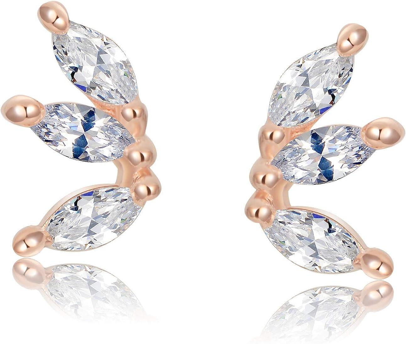 Tiny Earrings Delicate Earrings Tiny CZ studs Tiny studs CZ studs CZ earrings Minimal Stud Earrings