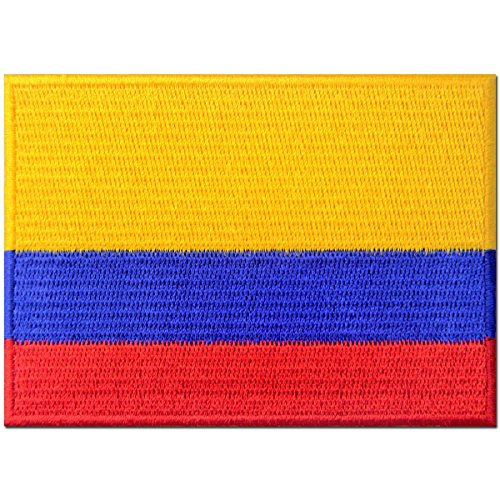 Colombia Flag Embroidered Patch Colombian Iron On