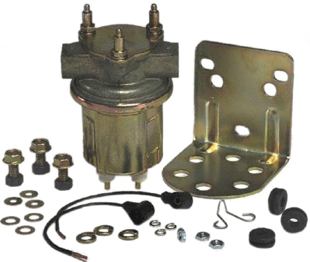 Carter P4389 In Line Electric Fuel Pump Automotive Installation Instructions