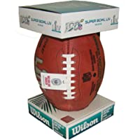 $139 » NFL Super Bowl LIV 54 Authentic Official Game Football (Boxed) with Chiefs & 49ers Names Inscribed on Ball
