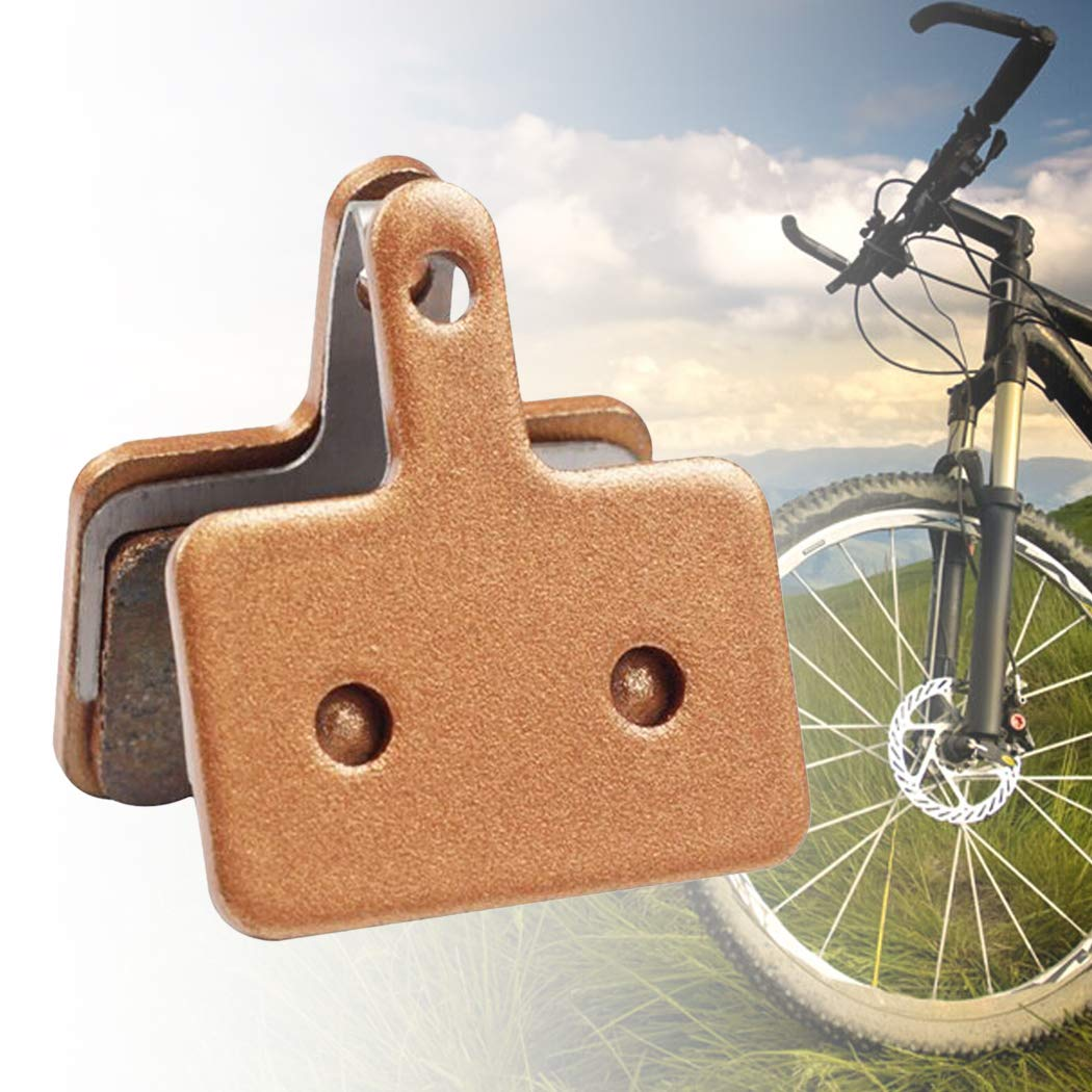 4 Pairs Black Color M446 Bike Disc Brake Pads for Fixing Bicycle Tires Durable